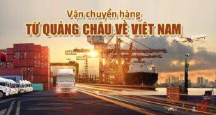 Vận chuyển hàng Quảng Châu