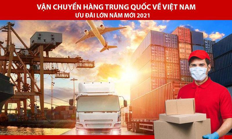 Vận chuyển hàng Trung Quốc về Việt Nam