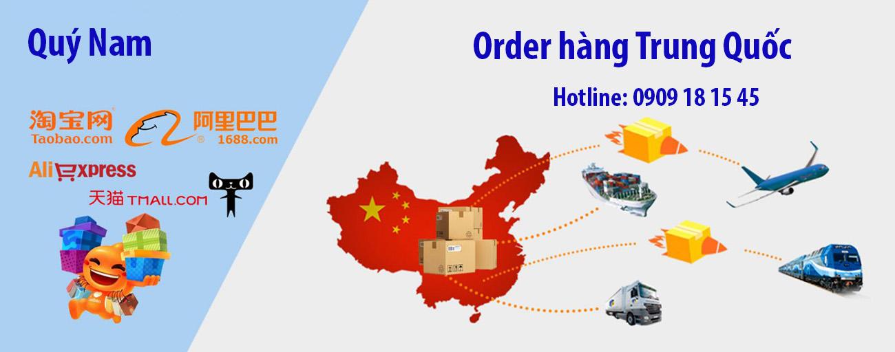 Dịch vụ order hàng Trung Quốc